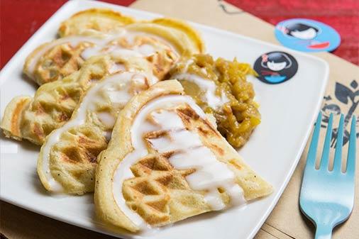 Coconut Waffle