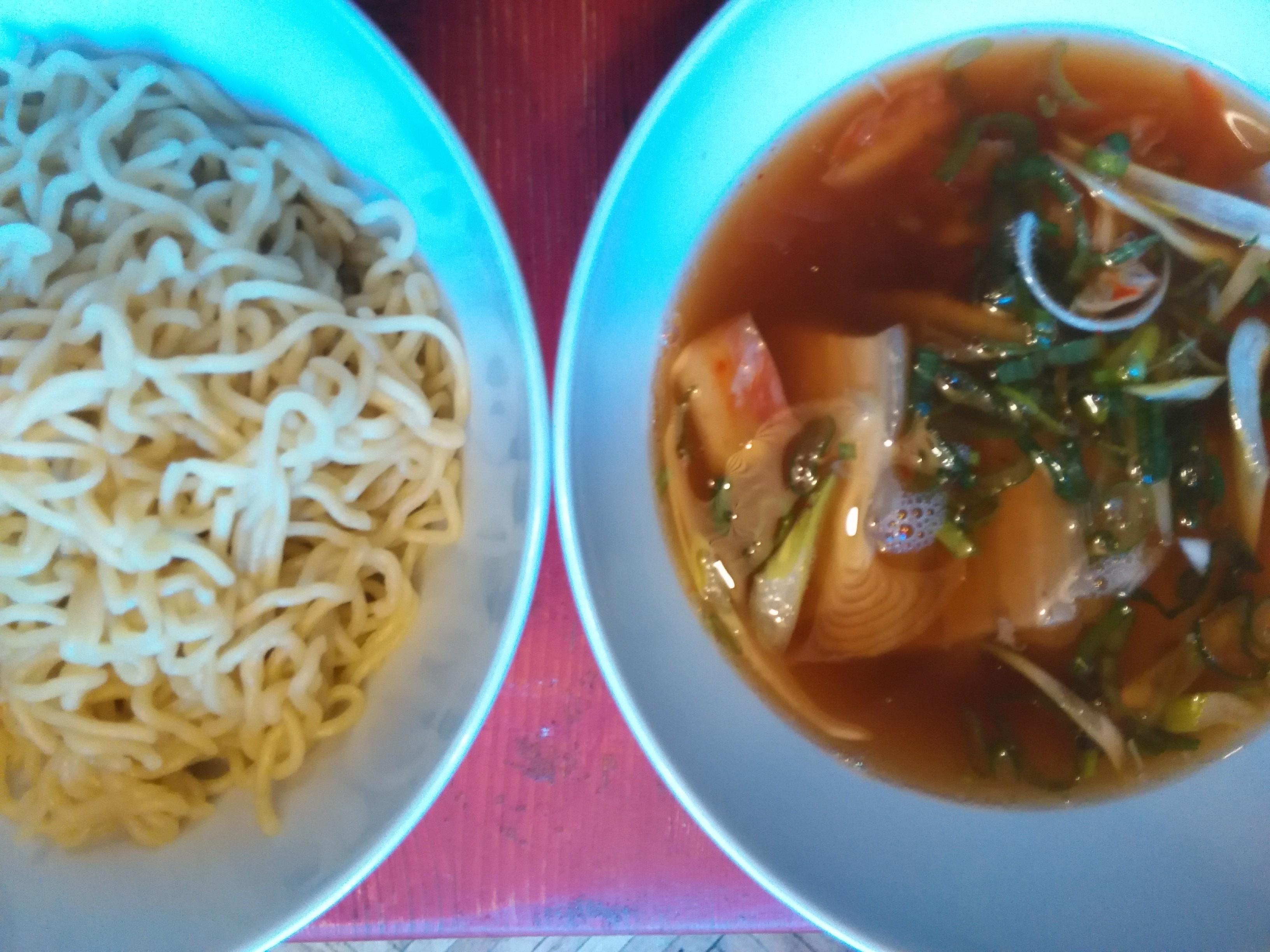 Kimchi Tsukenem Ramen