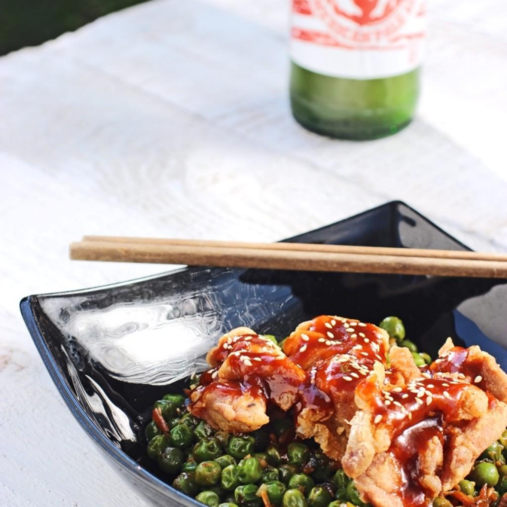 Japán csibefalatok szecsuáni borsóval